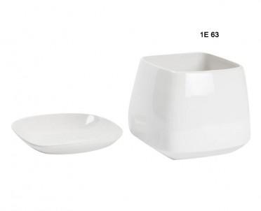 Keramická miska bílá č.1