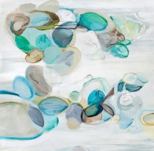 Abstraktní obraz  Pebbles č.1