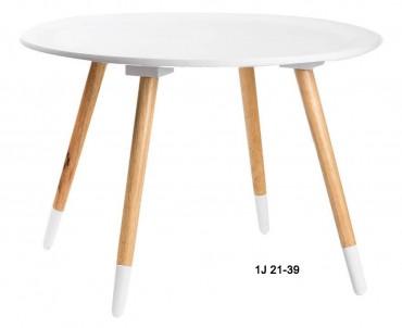 Odkládací stolek střední bílý č.1