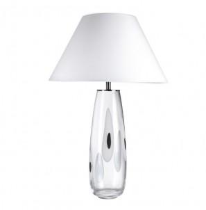 Stolní lampa Broadway bílá č.1
