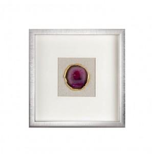 Dekorativní panel achát  purpurový č.1