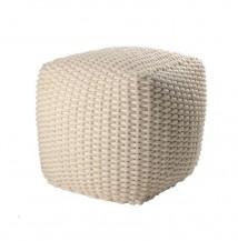 Pletený pouf