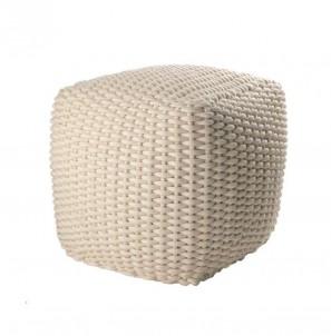 Pletený pouf č.1
