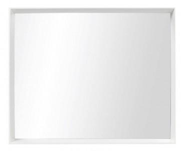 Zrcadlo bílý rám č.1