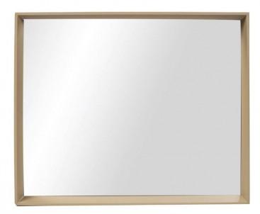 Zrcadlo hnědý rám č.1