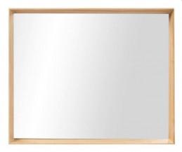 Zrcadlo rám světlé dřevo