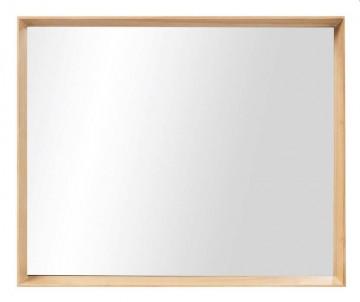 Zrcadlo rám světlé dřevo č.1