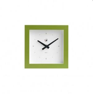 Moderní  hodiny piccolo zelené č.1