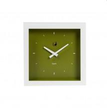 Moderní  hodiny  grande zelené