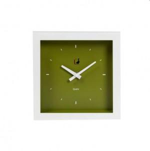 Moderní  hodiny  grande zelené č.1