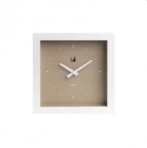 Moderní  hodiny grande hnědé č.1