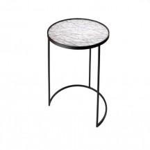 Kulatý odkládací stolek Stíny větví