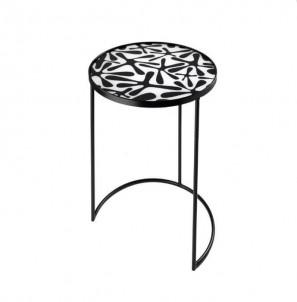Kulatý odkládací stolek  Stopy č.1