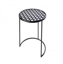 Kulatý odkládací stolek Moderní vzor