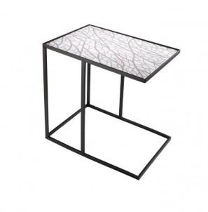 Obdélníkový odkládací stolek Stíny větví č.1