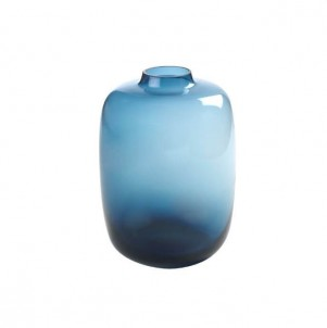 Váza minimalistická modrá č.1