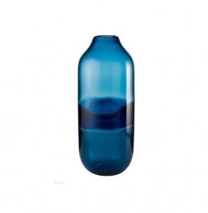 Váza kobaltová modř vysoká č.1