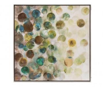 Abstraktní obraz Skleněnky č.1