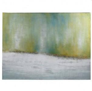 Abstraktní obraz Krajina ticha č.1