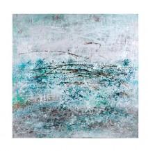 Abstraktní obraz Oceán