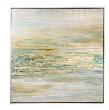 Abstraktní obraz Ranní mlha