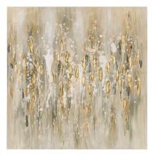 Abstraktní obraz   Zlatý déšť II