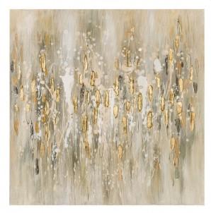 Abstraktní obraz   Zlatý déšť II č.1