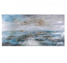 Abstraktní obraz Mořská hladina