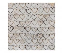 Čtvercový obraz Srdce
