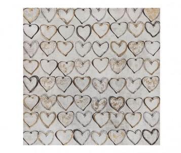 Čtvercový obraz Srdce č.1