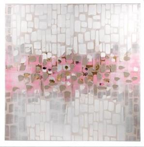Abstraktní obraz Řeka lásky č.1