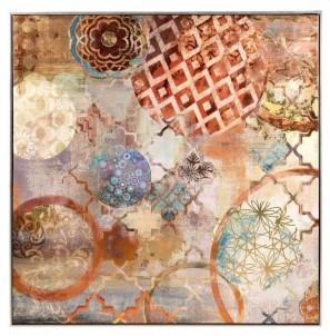 Abstraktní obraz Orient č.1