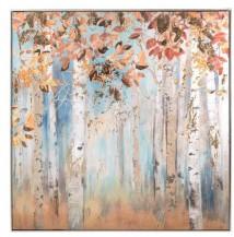Obraz Podzim v březovém háji