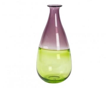 Zeleno purpurová karafa kapka č.1