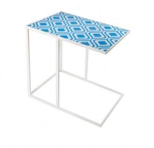 Obdélníkový odkládací stolek Paví oko č.1