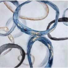 Abstraktní obraz  Rings