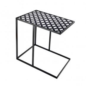 Obdélníkový  odkládací stolek moderní vzor č.1