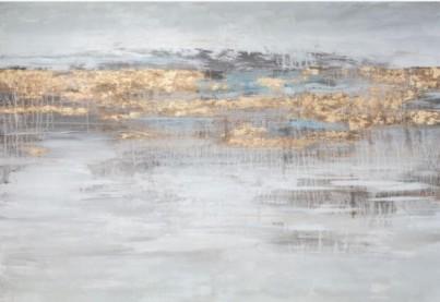 Abstraktní obraz Tocco D'oro č.1