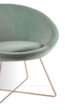 Designové křeslo Sicurezza Verde