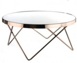 Kulatý odkládací stolek Goldessa 2