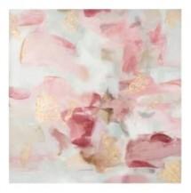 Abstraktní akrylový obraz Pretty In Pink