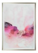 Abstraktní akrylový obraz Rosa Montagna