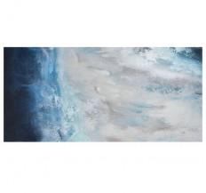 Abstraktní akrylový obraz Oceán
