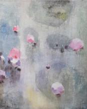 Abstraktní obraz Lila
