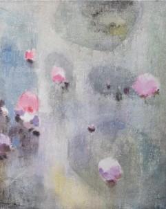 Abstraktní obraz Lila č.1