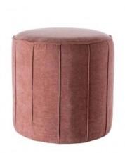 Textilní pouf Puri rose