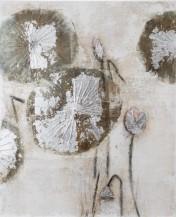 Abstraktní obraz Dandelion