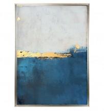 Abstraktní obraz Sunset