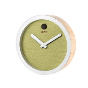 Minimalistické hodiny - Verde č.1