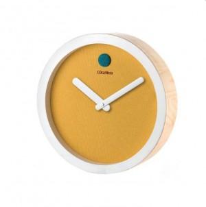 Minimalistické hodiny - Giallo č.1
